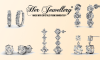 5 Ζευγάρια Σκουλαρίκια, με Κρύσταλλα από Swarovski - 08