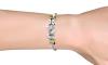Βραχιόλι Pearl Charm σε Λευκό ή Μαύρο Χρώμα - 03