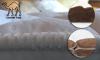 Ανώστρωμα Διπλής 'Oψης με Afrolatex+Τρίχα Καμήλας - 04
