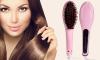 Ηλεκτρική Βούρτσα Μαλλιών για Στέγνωμα & Ίσιωμα - 01
