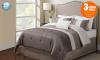 Μονό ή Διπλό Κρεβάτι Como με Ορθοπεδικό Στρώμα - 03