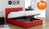 Διπλό Κρεβάτι με Κεφαλάρι & Αποθηκευτικό Χώρο - 04